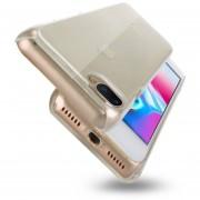 Para IPhone 8 Plus Y 7 PLUS PC Volver Funda Protectora Transparente (transparent)