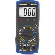 HOLDPEAK 770B Digitális multiméter VAC VDC AAC ADC ellenállás kapacitás frek. hőmérs. feszültség kereső.