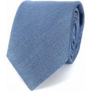 Profuomo Krawatte Tussahseide Blau - Blau