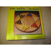 Solid Wood Chinese Checkers by Parker Brothers