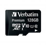 Verbatim Premium microSDXC-Speicherkarte 128 GB, 45MB/s, Class 10, U1