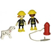 Hape Playscapes Happy - Firemen Figure