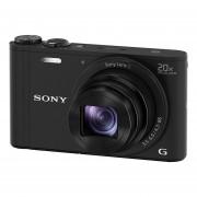 Sony Cybershot DSC-WX350 compact camera Zwart