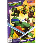 Teenage Mutant Ninja Turtles This Is Epic Giant Coloring and Activity Book