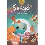 Safari. Alfabetul animalelor - Limba Engleza. Carte de colorat (editie de lux)/Daniel Nistor