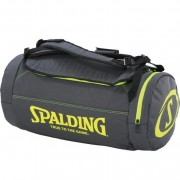 Spalding Sporttasche Duffle Bag - anthra/fluo gelb