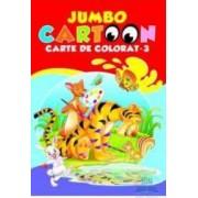 Jumbo cartoon 3 - Carte de colorat