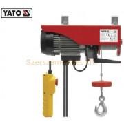 Yato Elektromos csörlő 1050W 300/600 kg (YT-5905)