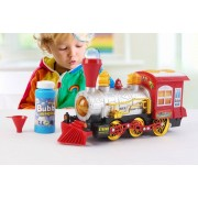 Direct Sourcing Kid's Train Bubble Machine - Music & Lights!