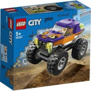 Lego City, Camion gigant, 55 piese, 60251