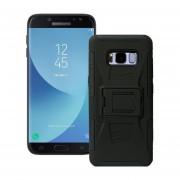 Funda Samsung J730 Galaxy J7 Pro Robot Uso Rudo Con Clip - Negro