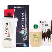 Romsons ONCE MORE PERFUME 100 ml Eau de Parfum + RHYTHM Musical PERFUME 40 ml (For Men Women)