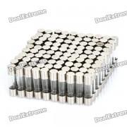 Juego de fusibles de tubo de vidrio 3A (paquete de 100 piezas / 5 x 20 mm)