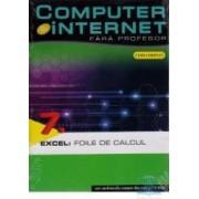 Computer Si Internet Fara Profesor Vol. 7. Excel Foile De Calcul