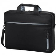 Чанта за лаптоп HAMA Marseille Style 101280, 13.3, Черен/Сив, HAMA-101782
