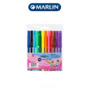 Marlin Kids fibre tip koki pens -Pack of 12,