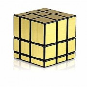 New Pinch Golden Mirror Cube 3X3 Speed Cube-in Irregular Shapes Puzzle