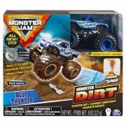 Monster Jam, set camioneta cu nisip blue thunder