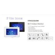 Free Shipping DAHUA Video Intercom 7inches Wi-Fi Indoor Monitor without Logo VTH5221D/VTH5221DW