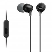 Sony MDR-EX15AP In-Ear oordopjes Zwart