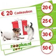 zooplus cadeaubon - waarde EUR 20,-
