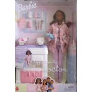 Mattel Barbie Happy Family Baby Doctor Aa Doll W 2 Baby Dolls (2002)