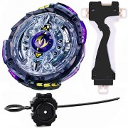 MTT Solution Gyro Battling Top Beyblade Burst B-102 Twin Nemesis.3H.UI Attack Booster Top Pack Spinning High Performance Battling Top Blade Burst God, Bay Blades Burst Starter B-102 Booster Twin Nemesis.3H.UI, with BeyLauncher & Grip Set 4D Spining Top To