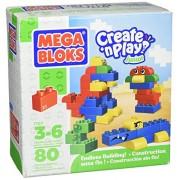 Mega Bloks Create N Play Junior Blok Set 80 Pieces By Mega Bloks