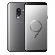 "Samsung Smartphone Samsung Galaxy S9 Plus Sm G965f Dual Sim 256 Gb 4g Lte Wifi Doppia Fotocamera 12 Mp + 12 Mp Octa Core 6.2"" Quad Hd+ Super Amoled Refurbished Titanium Grey"
