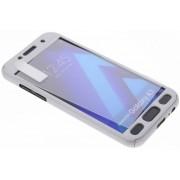 Zilveren 360° effen protect case voor de Samsung Galaxy A3 (2017)