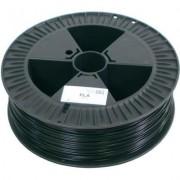 3D nyomtató szál German RepRap 100294 PLA műanyag 3 mm Fekete 2.1 kg (1008299)