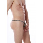 Petit-Q Ringey Zebra C Ring G String Underwear PQ160819