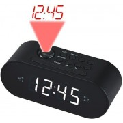 Radio alarm DENVER CRP-717, Crni