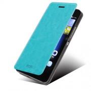 MOFI кожен калъф за Huawei Ascend P8 Lite - син