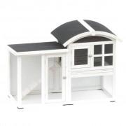 @Pet Coelheira Piazza branco e preto 130x62x90,5 cm 20085