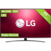 LG 49SM8200PLA Tvs - Zwart