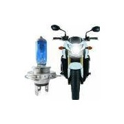 Lampada Super Branca H7 Crystal Vision Moto 12V 55W 4300K