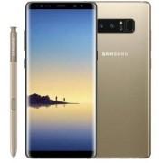 "Samsung Smartphone Samsung Galaxy Note 8 Sm N950f 6.3"" Dual Edge Super Amoled 64 Gb Octa Core 4g Lte Wifi 12 Mp + 12 Mp Android Refurbished Gold"