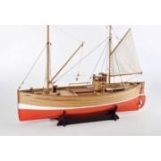 Amati - drewniane modele okrętów Drewniany model szkockiego statku rybackiego Fifie do sklejania - Amati nr 1300/09 w skali 1:32