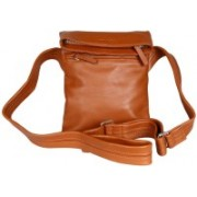 Viari Manhattan Jazz Tan Shoulder Bag