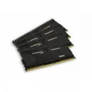 MEM DDR4 16GB 2400MHz 4x4 HyperX Predator KIN HX424C12PB2K4/16
