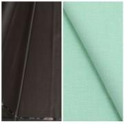 Kundan Sulz Gwalior Men's Executive Pure Cotton Linen Shirt Fabric & Fancy Formal Dark Brown Shining Trouser Fabric Combo Set ( Pack of 1 Pant and Shirt Piece )