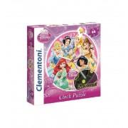 Puzzle Reloj Princesas - Clementoni