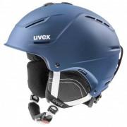 Uvex - p1us 2.0 - Casque de ski taille 59-62 cm, bleu/gris/noir