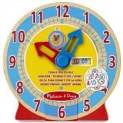 Детска играчка - Дървен часовник, 14284 Melissa and Doug, 000772142847
