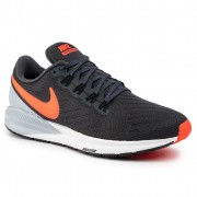 Обувки NIKE - Air Zoom Structure 22 AA1636 010 Anthracite/Bright Crimson