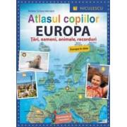 Atlasul copiilor. Europa. Tari oameni animale recorduri