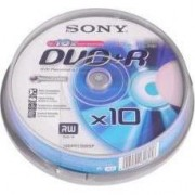Medii de stocare sony DVD + R Cake / 10 / 4,7GB 16x