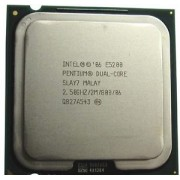 Intel Pentium Dual Core E5200 2.50 GHz - second hand