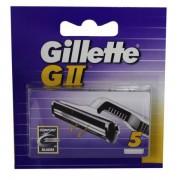 Gillette G II Lame di Ricambio 5 pz.